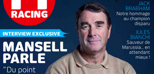 Les confidences de Nigel Mansell dans F1 Racing