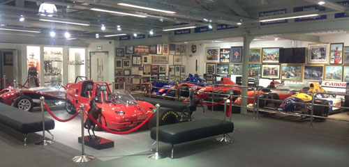 Inauguration de la Mansell Collection à Jersey