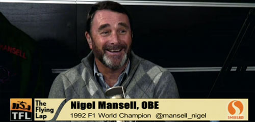 The Flying Lap spécial Nigel Mansell