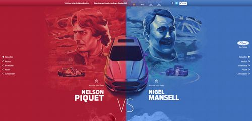 Ford ravive la tension entre Nigel Mansell et Nelson Piquet